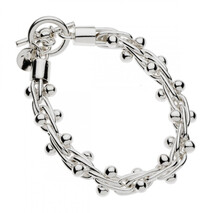 Najo silver spratling bracelet Napier Made in New Zealand