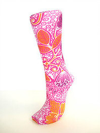 Celeste Stein White Mermaid Trouser Socks in Napier New Zealand