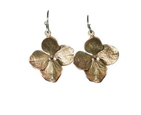 Michael Michaud Large Hydrangea Earrings Napier New  Zealand